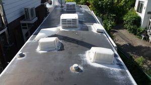 RV Roof Restoration Before