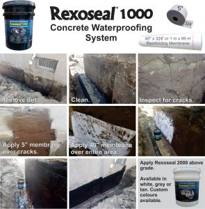 Rexoseal 1000 Foundation Repair