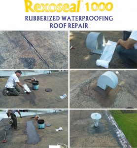 Rexoseal 1000 Roof Repair