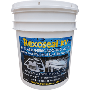 Rexoseal RV Roof Sealant 4 Gal.