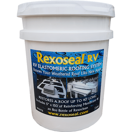 Rexoseal RV Roof Sealant 5 Gal.
