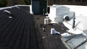 Commercial Roof Before
