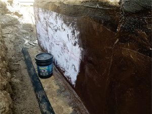Foundation Waterproofing Step 6