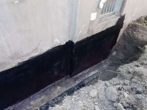 Foundation Waterproofing Step 8