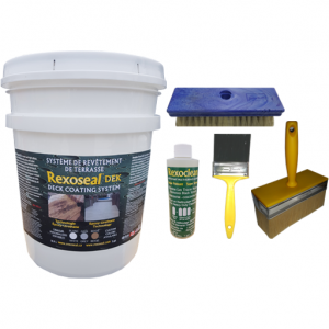 Rexoseal DEK Deck Coating Kit 5 Gal.