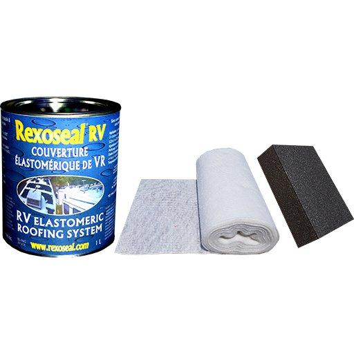 Rexoseal 1 Quart RV Roof Repair Kit