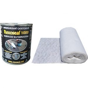 Rexoseal 1000 1 Quart Multi-Purpose Sealant Repair Kit