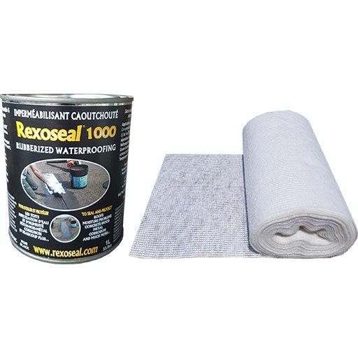 Rexoseal 1000 1 Quart Multi-Purpose Sealant Repair Kit