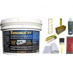 Rexoseal 3 Gal. RV Roof Restoration Kit