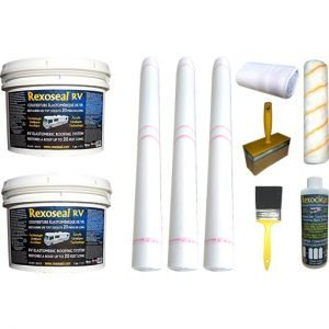 Rexoseal 3 Gal. RV Roof Replacement Kit