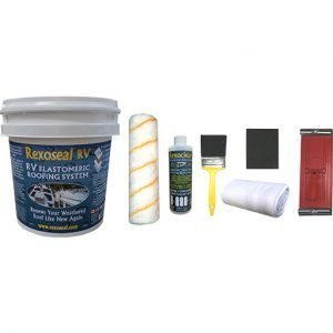 Rexoseal RV Tent Trailer Roof Repair Kit